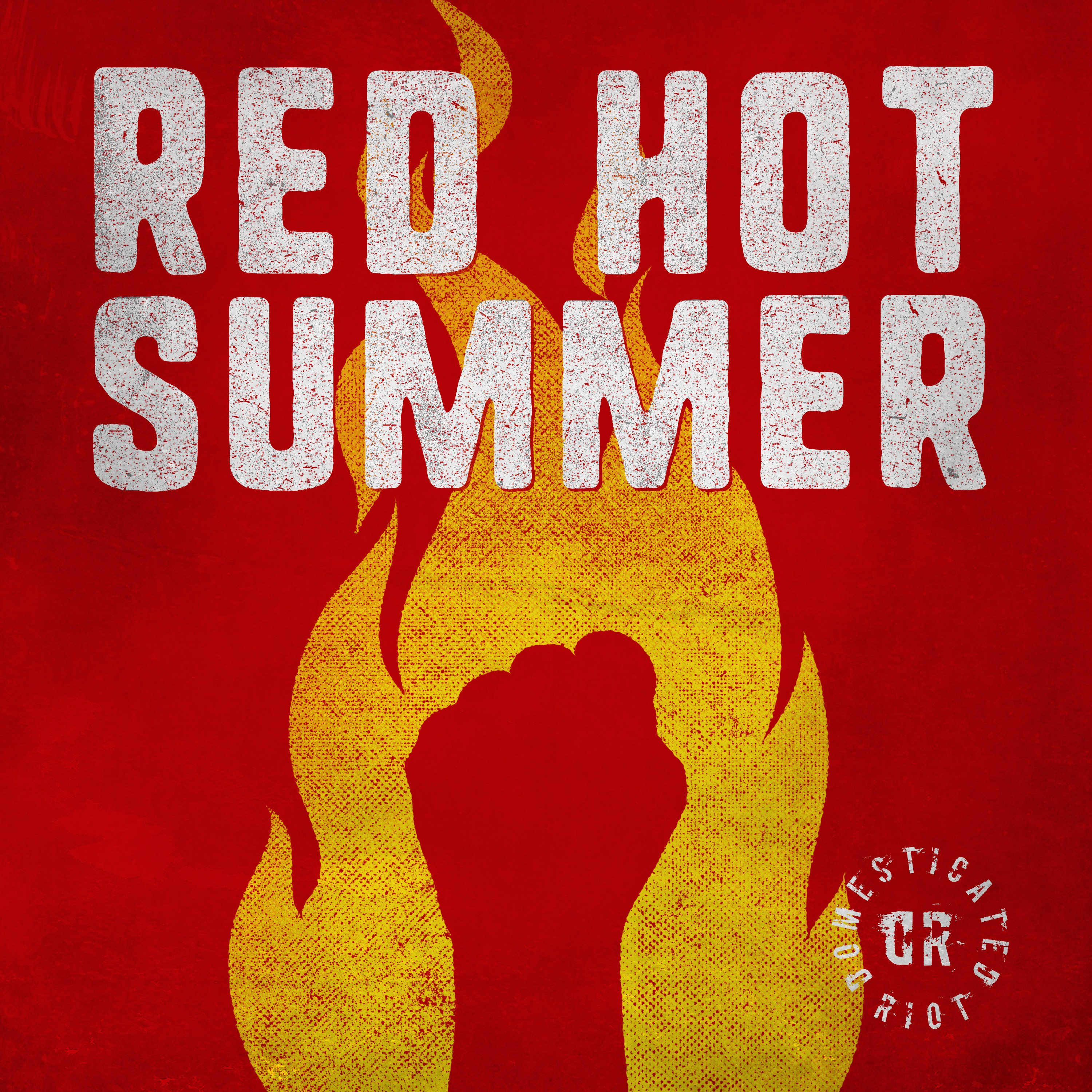 Domesticated Riot - Red Hot Summer - Artwork
